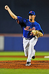 5 March 2012: New York Mets pitcher Matt Harvey in action during a Spring Training game against the Washington Nationals at Digital Domain Park in Port St. Lucie, Florida. The Nationals defeated the Mets 3-1 in Grapefruit League play. Mandatory Credit: Ed Wolfstein Photo