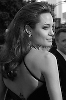 """Angelina Jolie arriving at the """"Mr & Mrs Smith"""" Premiere in Westwood, CA 6/7/05."""