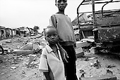 Guekedou, Guinea<br /> April 2001<br /> <br /> Childern in the streets of Guekedou a town that was attacked by Sierra Leone rebels then bombed by the Guinean military in January. The attacks scattered hundreds of families and separated children from parents throughout the region.