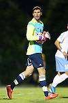 06 October 2015: UNCW's Sean Melvin (CAN). The University of North Carolina Tar Heels hosted the University of North Carolina Wilmington Seahawks at Fetzer Field in Chapel Hill, NC in a 2015 NCAA Division I Men's Soccer match. North Carolina won the game 3-0.