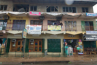 Design and print businesses cluster and compete in Accra new town.
