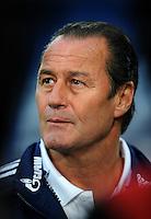 FUSSBALL   1. BUNDESLIGA   SAISON 2011/2012    9. SPIELTAG FC Schalke 04  - 1. FC Kaiserslautern                      15.10.2011 Trainer Huub STEVENS (FC Schalke 04)
