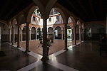 Claustro del Aljibe (well cloister), Museum of Fine Arts, Seville, Spain