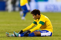 Neymar (11) of Brazil. Brazil (BRA) and Colombia (COL) played to a 1-1 tie during international friendly at MetLife Stadium in East Rutherford, NJ, on November 14, 2012.