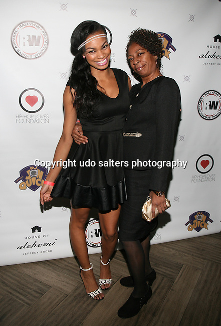 Honoree KRYSTAL GARNER and Mother Camille White at DJ Jon Quick's 5th Annual Beauty and the Beat: Heroines of Excellence Awards Honoring AMBRE ANDERSON, DR. MEENA SINGH,<br /> JESENIA COLLAZO, SHANELLE GABRIEL, <br /> KRYSTAL GARNER, RICHELLE CAREY,<br /> DANA WHITFIELD, SHAWN OUTLER,<br /> TAMEKIA FLOWERS Held at Suite 36, NY