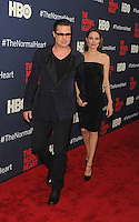 New York,NY- May 12: Brad Pitt and Angelina Jolie attend the Normal Heart Premiere at the Ziegfeld Theater on May 12, 2014 in New York City Credit: John Palmer/MediaPunch