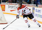 Ryan Ellis (Canada - 6) - Team Canada defeated Team USA 5-4 (SO) on Thursday, December 31, 2009, at the Credit Union Centre in Saskatoon, Saskatchewan, during the 2010 World Juniors tournament.