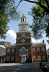 Independence Hall, exterior..Philadelphia, Pennsylvania, PA USA.  Photo copyright Lee Foster, 510-549-2202, lee@fostertravel.com, www.fostertravel.com. Photo 267-30909