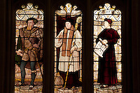 Stained glass window, Christ Church College, Oxford.