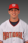 14 March 2008: ..Portrait of Craig Stinson, Washington Nationals Minor League player at Spring Training Camp 2008..Mandatory Photo Credit: Ed Wolfstein Photo