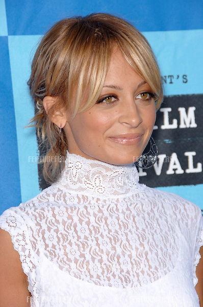 """Actress NICOLE RICHIE at the Los Angeles Film Festival premiere of """"The Devil Wears Prada""""..June 22, 2006  Los Angeles, CA.© 2006 Paul Smith / Featureflash"""