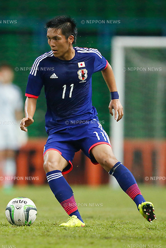 Yuya Kubo (JPN), MARCH 29, 2015 - Football / Soccer : AFC U-23 Championship 2016 Qualification Group I match between U-22 Japan 2-0 U-22 Vietnam at Shah Alam Stadium in Shah Alam, Malaysia. (Photo by Sho Tamura/AFLO SPORT)