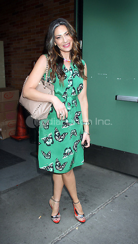 August 03, 2012 Stacy London fashion expert at Good Afternoon America in New York City .Credit:© RW/MediaPunch Inc.