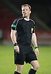 St Johnstone U20 v Motherwell U20&hellip;03.10.16.. McDiarmid Park   SPFL Development League<br />Referee Chris Fordyce<br />Picture by Graeme Hart.<br />Copyright Perthshire Picture Agency<br />Tel: 01738 623350  Mobile: 07990 594431