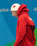 Rio de Janeiro-9/9/2016-Alec Elliot swims in the men's 50m fr finals at the 2016 Paralympic Games in Rio. Photo Scott Grant/Canadian Paralympic Committee