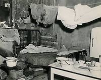 UNDATED..Redevelopment..Project#1 (UR1-1)..Slum Conditions.Interior view if house, now razed, on site of Project #1.722 724 Smith Street..PHOTO CRAFTSMEN INC..NEG# 7-862.NRHA# 21..