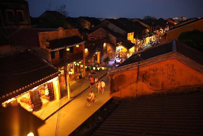 Night.  Hoi An, Vietnam. April 15, 2016.