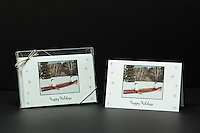 """Whitewater Canoeing"" holiday cards, box of 10 cards/envelopes, blank inside, approx. 5""x7"" folded"