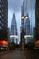 Shard London Bridge, also known as London Bridge Tower, 2012, Renzo Piano seen from More London Place, Greater London, UK. Picture by Manuel Cohen