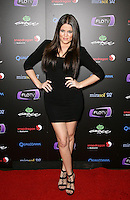 KHLOE KARDASHIAN .At SWAGG VIP Kid Rock Concert at the Joint inside the Hard Rock Hotel and Casino, Las Vegas, Nevada, USA,.7th January 2010..full length hands on hips black mini dress sandals platform wedding ring .CAP/ADM/MJT.© MJT/AdMedia/Capital Pictures.