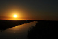 CORAL SPRINGS FL - OCTOBER 22: General view of Sunset at Everglades National Park on October 22, 2016 in Coral Springs, Florida. Credit: mpi04/MediaPunch