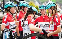 Picture by Alex Whitehead/SWpix.com - 12/05/2017 - Cycling - Tour Series Round 3, Northwich - Matrix Fitness Grand Prix - Drops