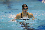 INDIANAPOLIS, IN - MARCH 18: Sydney Pickrem swimming for Texas A&M in the 200-meter breaststroke during the Division I Women's Swimming & Diving Championships held at the Indiana University Natatorium on March 18, 2017 in Indianapolis, Indiana. (Photo by A.J. Mast/NCAA Photos via Getty Images)