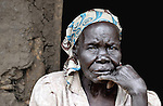 Rachel Nyoka, a woman in the village of Pisak, in Central Equatoria State in Southern Sudan. Nyoka is a United Methodist. NOTE: In July 2011, Southern Sudan became the independent country of South Sudan
