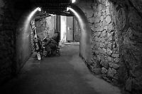 Aiguille du Midi tunnel