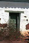 Door home of Don Jose Antonio de Estudillo Spanish aristocrat built 1825 Old Town San Diego California, Fine Art Photography by Ron Bennett, Fine Art, Fine Art photography, Art Photography, Copyright RonBennettPhotography.com ©