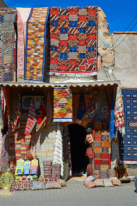 Shops of the Medina Kasbah, Marrakesh, Morroco
