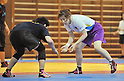 Saori Yoshida, JUNE 25, 2011 - Wrestling : Wrestling Japan National Team Training at National Training Center, Tokyo, Japan. (Photo by Atsushi Tomura/AFLO SPORT) [1035]