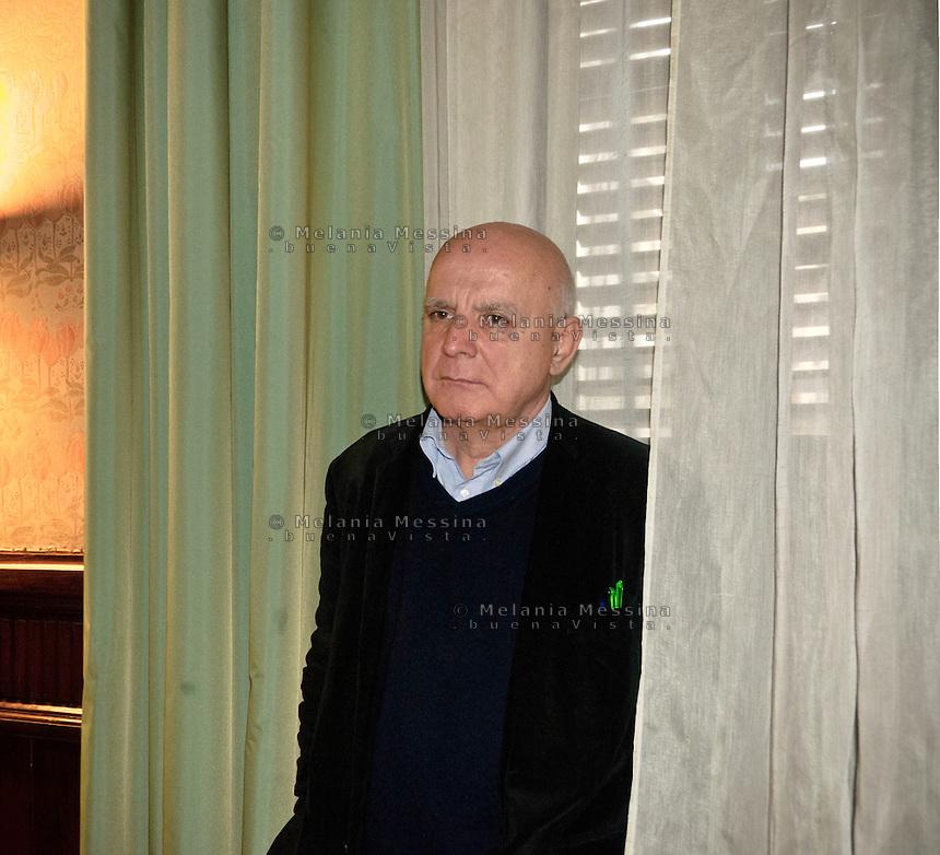 Palermo:il giornalista Maurizio Torrealta, candidato nelle liste di rivoluzione civile di Antonio Ingroia..Palermo:the journalist Maurizio Torrealtai, candidate in the lists of civil revolution of Antonio Ingroia