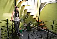 Fiorenza Cordero at her atelier in the Roma neighborhood of Mexico City.