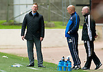 St Johnstone v Rangers....13.05.12   SPL.A dissappointed Steve Lomas.Picture by Graeme Hart..Copyright Perthshire Picture Agency.Tel: 01738 623350  Mobile: 07990 594431