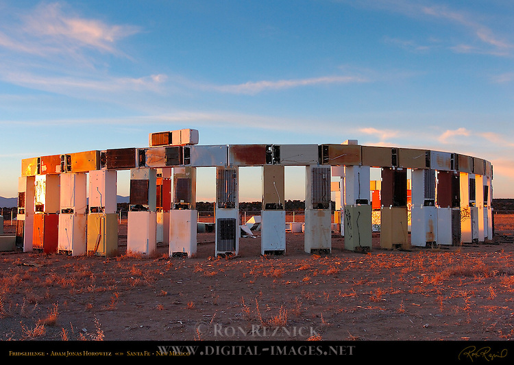 Fridgehenge, Stonefridge, Adam Jonas Horowitz, Santa Fe, New Mexico