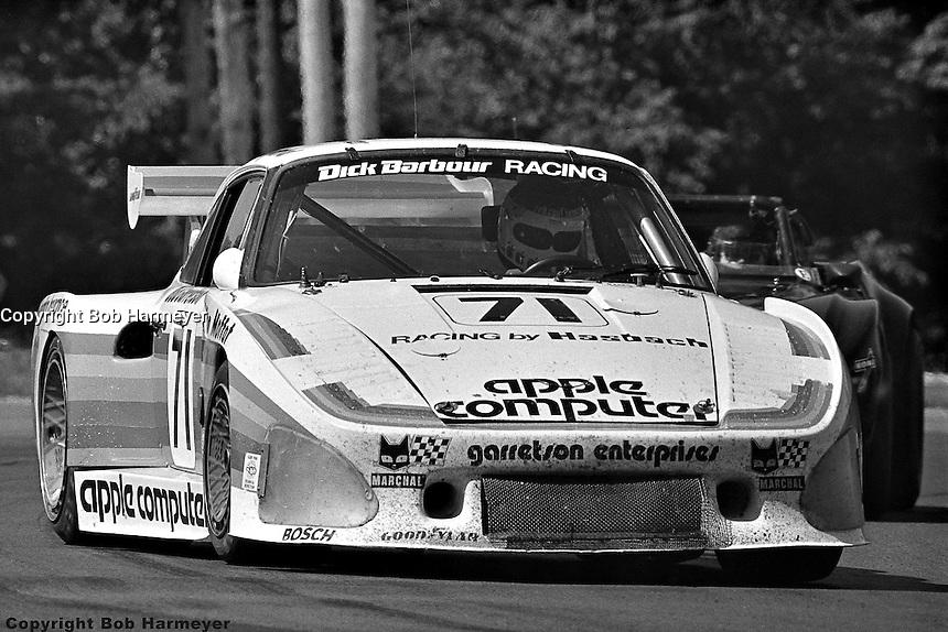 WATKINS GLEN, NY - JULY 5: Bobby Rahal drives the Porsche 935 K3 009 00030 during the Six Hours of Watkins Glen on July 5, 1980, at Watkins Glen International near Watkins Glen, New York.