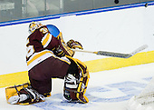 Kenny Reiter (Duluth - 35) - The Boston College Eagles defeated the University of Minnesota Duluth Bulldogs 4-0 to win the NCAA Northeast Regional on Sunday, March 25, 2012, at the DCU Center in Worcester, Massachusetts.