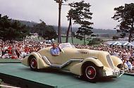 August 26th, 1984. 1934 Duesenberg SJ Special Speedster.