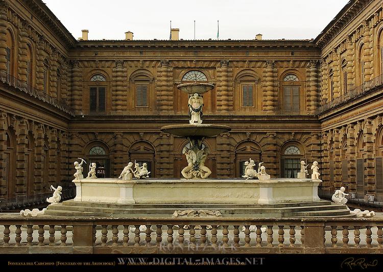 Fontana del Carciofo Fountain of the Artichoke Susini Palazzo Pitti