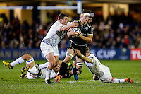 Francois Louw of Bath Rugby takes on the Leinster Rugby defence. European Rugby Champions Cup match, between Bath Rugby and Leinster Rugby on November 21, 2015 at the Recreation Ground in Bath, England. Photo by: Rogan Thomson / JMP for Onside Images