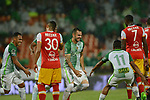 Nacional venció como local 3-1 a Independiente Santa Fe. Partido aplazado de la fecha 1 Liga Águila I-2017.