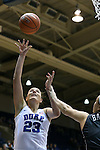 03 December 2015: Duke's Rebecca Greenwell (23) and Minnesota's Rachel Banham (right). The Duke University Blue Devils hosted the University of Minnesota Golden Gophers at Cameron Indoor Stadium in Durham, North Carolina in a 2015-16 NCAA Division I Women's Basketball game. Duke won the game 84-64.