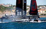 Second day of the America's Cup World Series, Cascais Portugal.