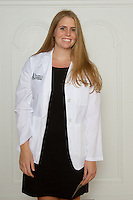 Sarah Fieber. White Coat Ceremony, class of 2016.