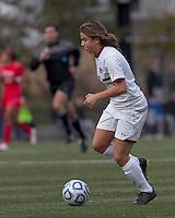 Boston College forward Stephanie McCaffrey (9) at midfield.  Boston College defeated Marist College, 6-1, in NCAA tournament play at Newton Campus Field, November 13, 2011.