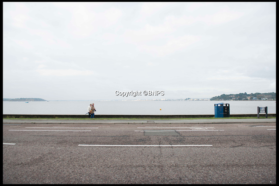 BNPS.co.uk (01202 558833)<br /> Pic: LauraDale/BNPS<br /> <br /> The view from the front of the plot on Banks Road.<br /> <br /> A narrow empty plot of land in the world-renowned Sandbanks area is on the market for &pound;6.25million.<br /> <br /> The piece of land is worth &pound;2m more now its empty than it was when the owner bought it with two semi-detached houses on it.<br /> <br /> The area in Dorset, often called Millionaire's Row, is said to be the fourth most expensive place in the world to live and this plot is one of the few left to redevelop.
