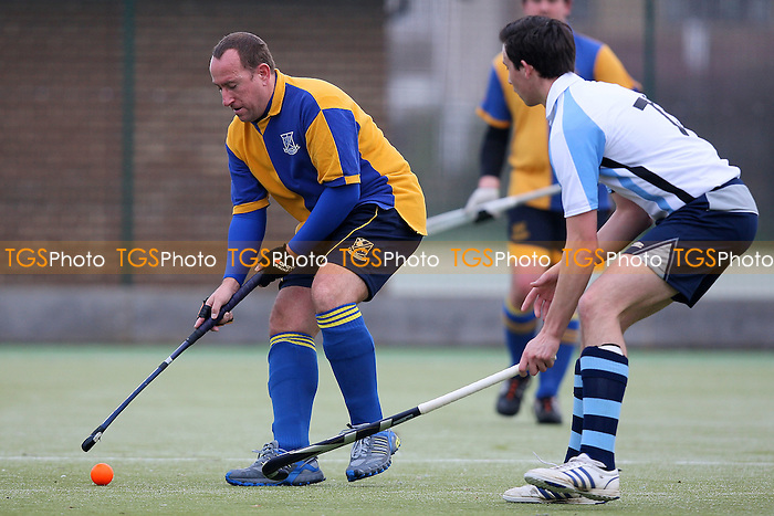 Upminster HC 4th XI vs Phoenix HC 2nd XI - Essex Hockey League - 27/11/10 - MANDATORY CREDIT: Gavin Ellis/TGSPHOTO - Self billing applies where appropriate - Tel: 0845 094 6026