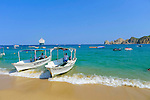 Water taxi, Medano Beach, Cabo San Lucas, Baja, Mexico