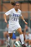 24 August 2012: Duke's Cassie Pecht. The Duke University Blue Devils defeated the University of Montreal Caribins 4-1 at Fetzer Field in Chapel Hill, North Carolina in an international women's collegiate friendly game.